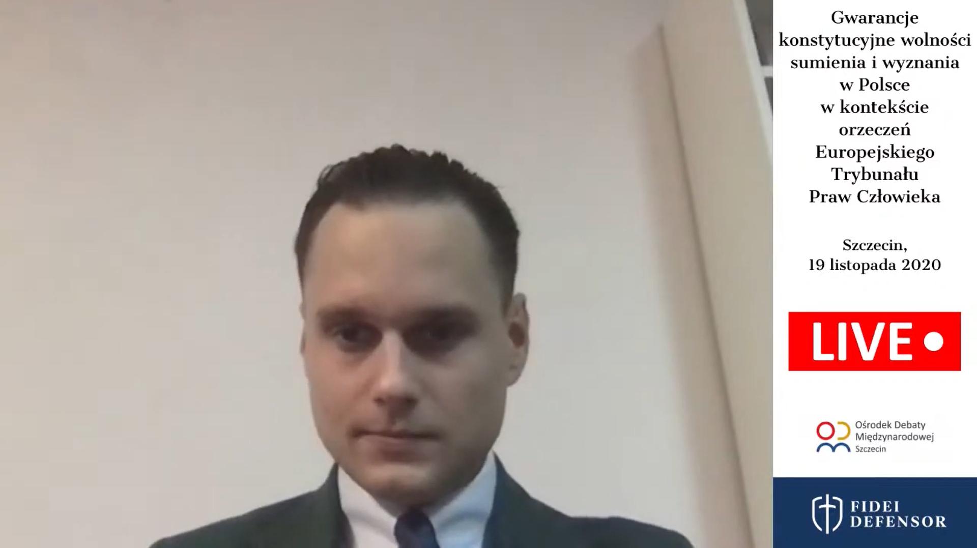 Gwarancje konstytucyjne wolności sumienia i wyznania w Polsce w kontekście orzeczeń Europejskiego Trybunału Prawa Człowieka