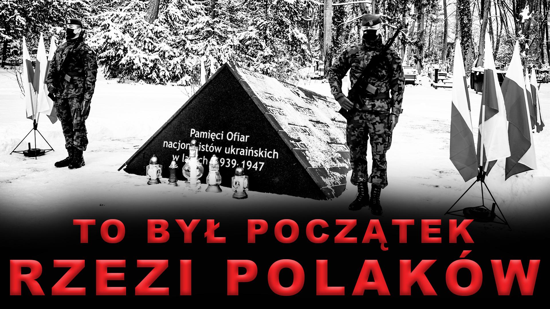 Obchody drugiej rocznicy odsłonięcia pomnika ku czci ofiar ukraińskich nacjonalistów