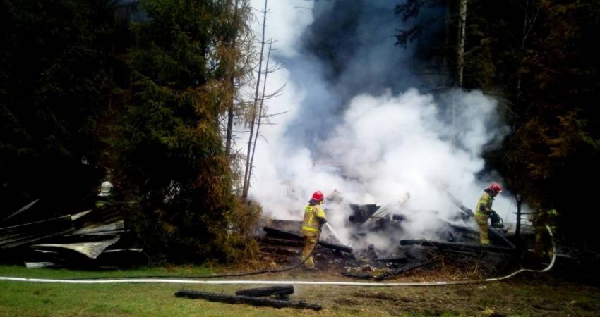 Podpalenie kapliczki w Grzechyni