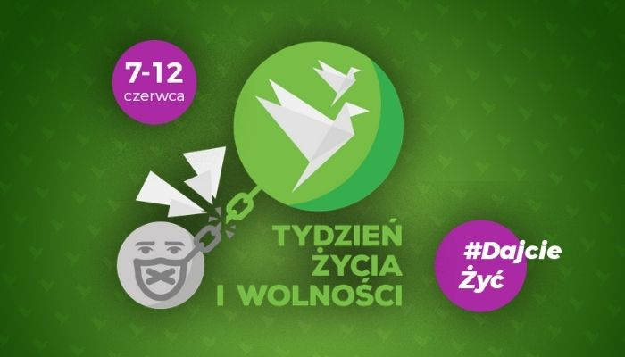Tydzień Życia i Wolności: transmisja online, bezpłatne wejściówki. Jak dołączyć?