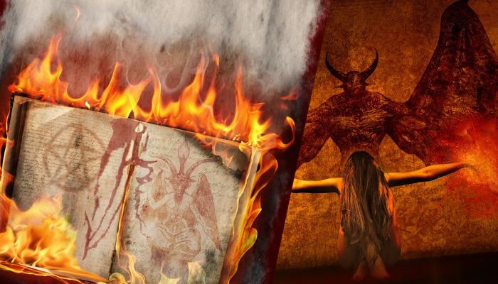 Symbolika satanistyczna na chrześcijańskich obiektach kultu
