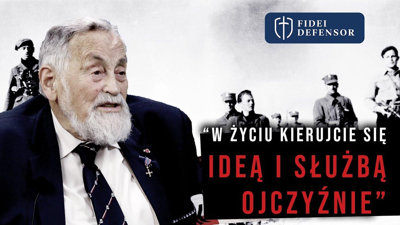 """Ppłk dr Janusz Kamocki ps. """"Mamut"""" """"W życiu kierujecie się ideą i służbą Ojczyźnie"""""""