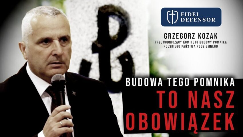 Budowa tego pomnika TO NASZ OBOWIĄZEK – Grzegorz Kozak