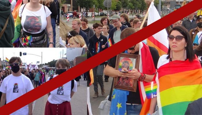 Profanacje na Marszu Równości