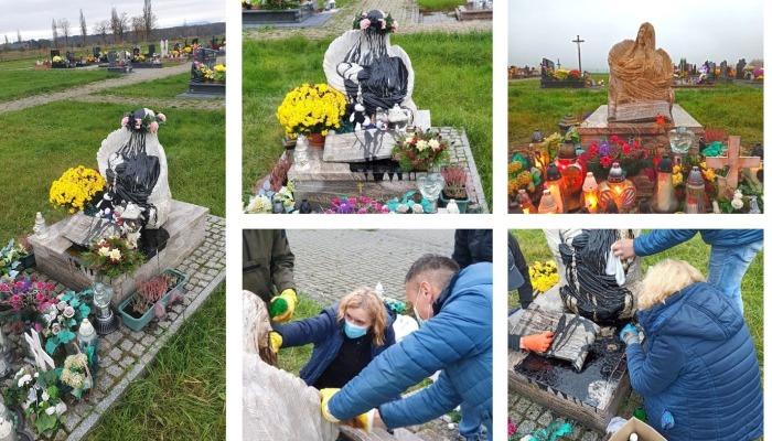 Sprawca dewastacji Pomnika Dziecka Utraconego w Brzezówce skazany przez Sąd